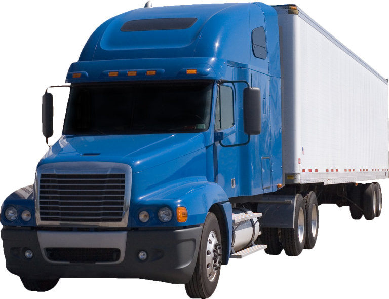 bigstock-Blue-Semi-With-Trailer-519524-768x590